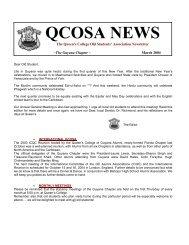 March 2004 Newsletter - Queen's College of Guyana