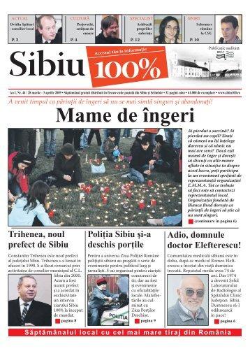 Mame de îngeri - Sibiu 100