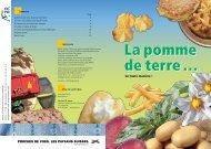 La pomme de terre … - Nomad Systems