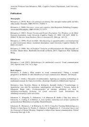 Publications - Lunds universitet