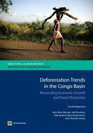 Deforestation trends in the Congo Basin : reconciling economic ...