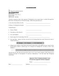 ECS MANDATE FORM To, M/s. Karvy Consultants ... - Axis Bank Logo
