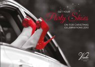 Party Shoes - Vale Resort