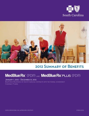 2012 Summary of Benefits - Blue Cross and Blue Shield of South ...