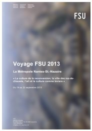 Programme - FSU • Fédération suisse des urbanistes, section ...