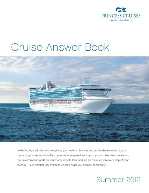 Cruise Answer Book Onesource