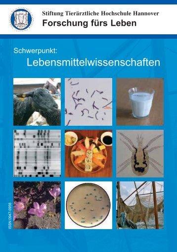 Lebensmittelwissenschaften - Tierärztliche Hochschule Hannover