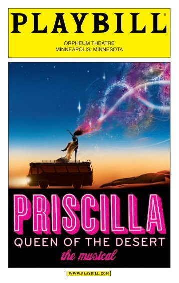 Download Playbill - Hennepin Theatre Trust