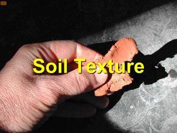 Soil Texture - Environmental Health Section