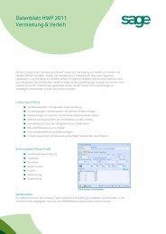 Datenblatt HWP 2011 Vermietung & Verleih - Business-Ware
