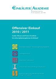 Offensiver Einkauf 2010 - Perspektive Mittelstand