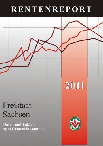 Renteneinkommen in Sachsen 2011 - Volkssolidarität Stadtverband ...