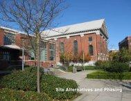Site Alternatives and Phasing - University of Washington Tacoma