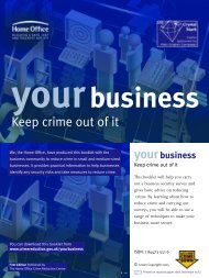 Business Crime - West Yorkshire Police