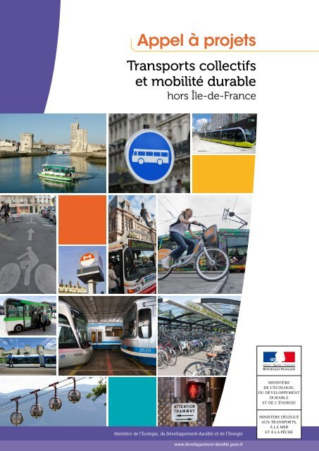 """Cahier des charges de l'appel à projets """"Transports collectifs et ..."""