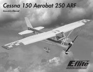 Cessna 150 Aerobat 250 ARF - Great Hobbies