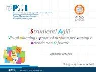 Strumenti Agili - PMI-NIC