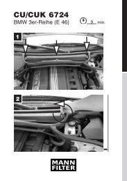 Mounting instruction - MANN+HUMMEL