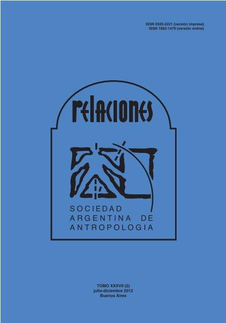 Completo Sociedad Argentina De Antropologãa
