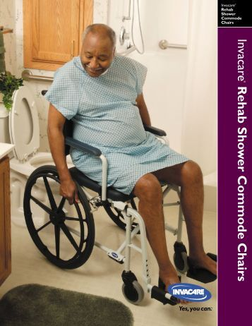 Mariner Rehab Commode Brochure