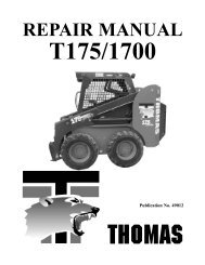 REPAIR MANUAL - Thomas Equipment Ltd.