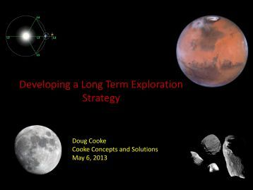 Developing a Long Term Exploration Strategy