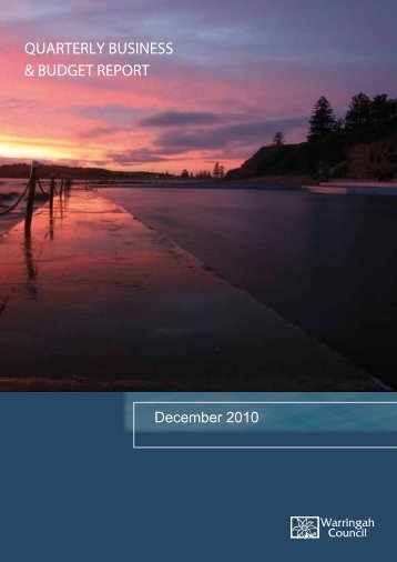 strategic community plan - Warringah Council - NSW Government