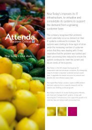 Download this case study in full - Attenda