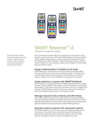 SMART Response™ LE - SMART Technologies