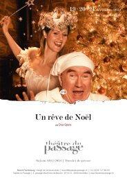 Un rêve de Noël - Théâtre du Passage