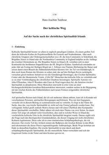Der keltische Weg - Systemische Exerzitien