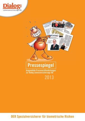 Pressespiegel 2012 - Dialog Lebensversicherungs-AG