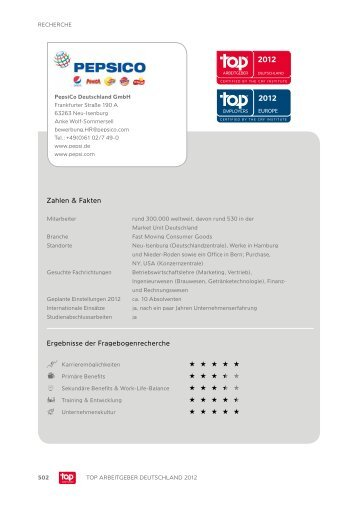 Download Profil - Top Arbeitgeber