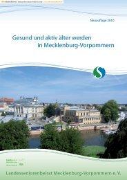 Gesund und aktiv älter werden in Mecklenburg-Vorpommern