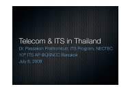 Telecom & ITS in Thailand