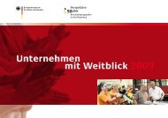 Unternehmen mit Weitblick 2009 - Perspektive 50plus