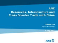 Australia's Infrastructure Cycle and Trade with China - All Occasions ...