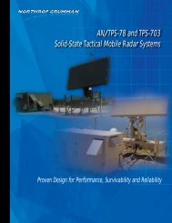 Brochure - Northrop Grumman Corporation