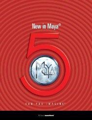 New in Maya 5 - 3DV