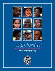 Five-Year Strategy - Pepfar