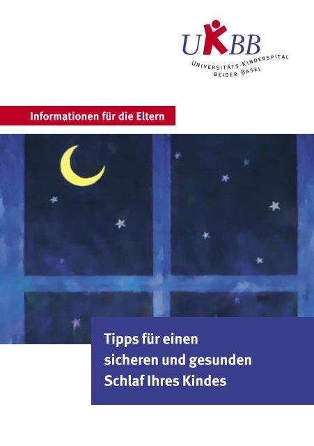 Tipps für einen sicheren und gesunden Schlaf Ihres Kindes