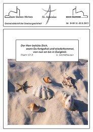 August-September 2013 - Sankt-antonius-online.de