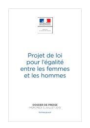 Projet de loi pour l'égalité entre les femmes et les hommes