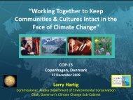 Hartig_COP-15_11Dec09.pdf - Climate Change in Alaska - State of ...