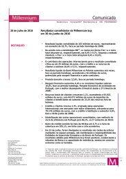 Press Release - Millennium BCP