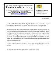Es sind konkrete Taten gefragt - Angelika Weikert, MdL