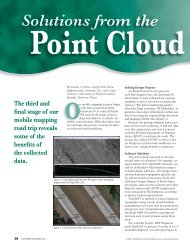 Solutions From The Point Cloud - RIEGL Laser Measurement Systems
