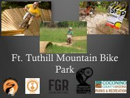 Ft. Tuthill Mountain Bike Park - Flagstaff Biking