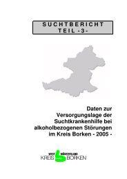 Suchtbericht Teil 3 10-2006VersorgungslageKreisBorken