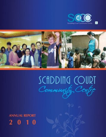 2010 - Scadding Court Community Centre
